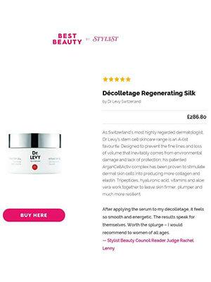 Best Beauty by STYLIST - Décolletage Regenarating Silk