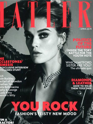 TATLER - April 2018 - Free Gift from Dr. LEVY Switzerland<sup>®</sup>