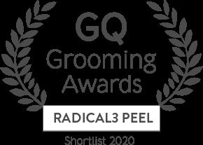 GQ - Grooming Awards Radical3 Peel Shortlist 2020