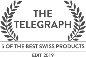 Specialised Press Accolades - The Telegraph (5 best Swiss products)